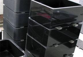 中国黑石材异形加工